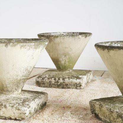 vasques de jardin des années 50.