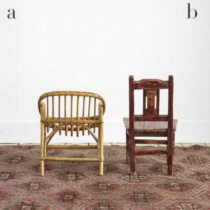 Fauteuil/Chaise enfant vintage