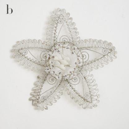 Anciennes décorations funéraires en perles