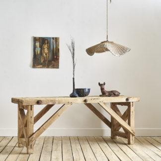 Etabli à croisillons meuble de métier