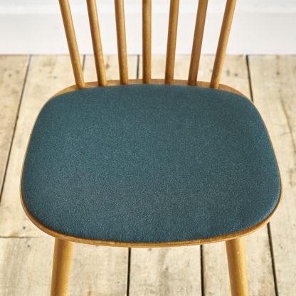 """chaises """" Baumann"""" années 60 """"Menuet"""" hêtre"""