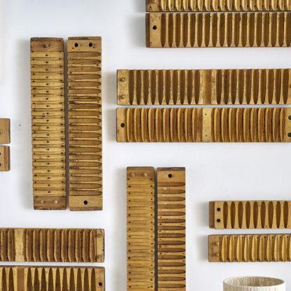 Moules en bois à cigares décoration murale