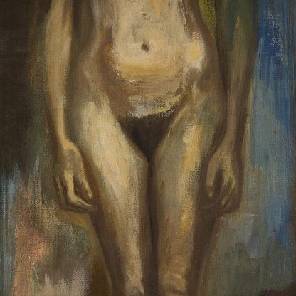 Nu féminin de Martin Reisberg peinture sur toile