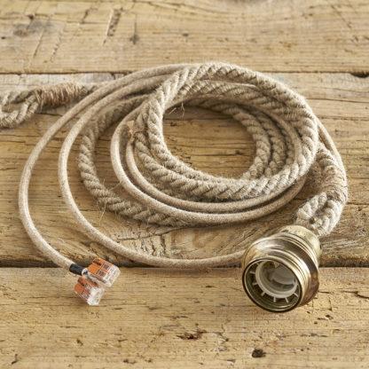 Suspension en corde