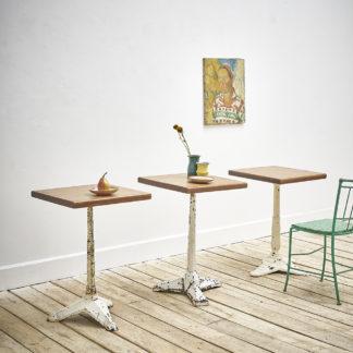 Table de bistrot «Art déco»