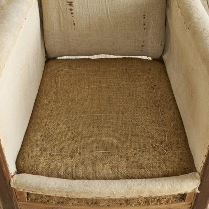 Ancien fauteuil club des années 30/40