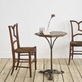 Ancienne table de bistrot début XXème