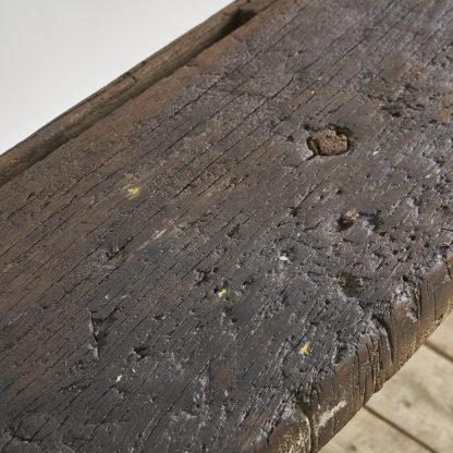 Ancien meuble de métier milieu XXème. Etabli en chêne