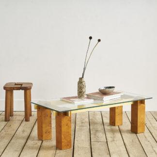 Table basse par Jean Claude Mahey pour Roche Bobois vers 1970