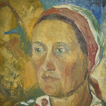 Portrait impressionniste